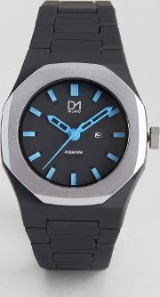 D1 Milano , Premium Collection Black And Silver Watch
