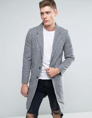Lindbergh , Overcoat In Grey Wool