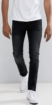 Loyalty & Faith , Loyalty And Faith Slim Fit Jeans In Washed Black