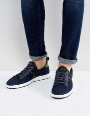 Ps By Paul Smith , Rabknit Slip On Trainers  Navy