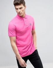 Psycho Bunny , Polo Shirt In Pink