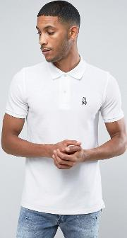 Psycho Bunny , Polo Shirt In White