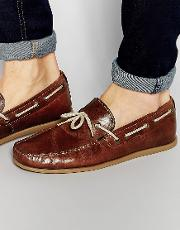 Red Tape , Driving Loafers  Tan Leather