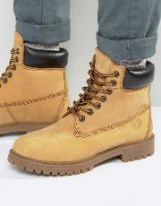 Red Tape , Worker Boots Beige