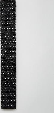 7x , Knitted Tie In Micro Dot
