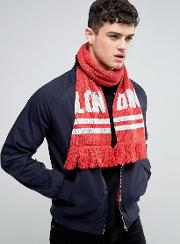 Abuze London , Lon Don Knitted Scarf