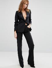 Millie Mackintosh , High Waisted Flared Suit Trousers