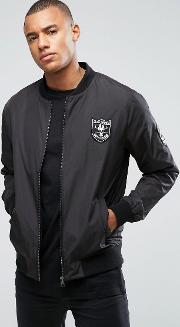 Only & Sons , Bomber Jacket With Badges