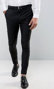 Selected Homme , Super Skinny Tuxedo Suit Trousers