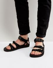 Teva , Alp Canvas Multi Strap Sandals