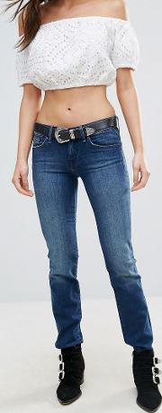 7 For All Mankind , Roxanne Skinny Jeans