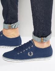 Fred Perry , Kingston Twill Trainers