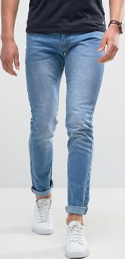 Loyalty & Faith , Loyalty And Faith Skinny Fit Jeans With Light Abbrasions   Wash