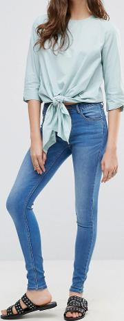 Pieces , Five Betty Skintight Jeans