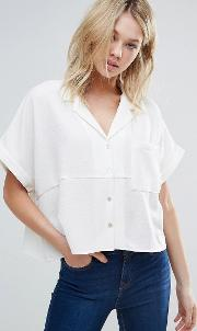 Dra , D.ra Aline Relaxed Short Sleeve Shirt