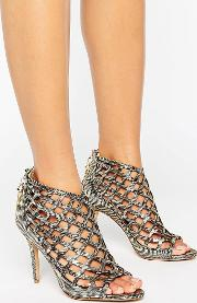 Forever Unique , Cynthia Caged Heeled Sandal