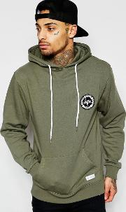 Hype , Hoodie With Crest Logo