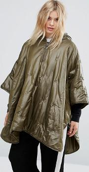 Max & Co , Max&co Quilted Poncho Coat