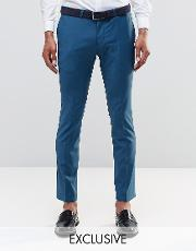 Noose & Monkey , Super Skinny Trousers With Stretch