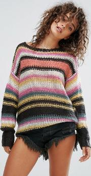 Billabong , Knitted Beach Jumper
