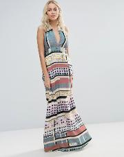 Clover Canyon , Modern Connection Maxi Dress