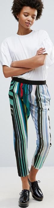 Clover Canyon , Striped Eclipse Trousers