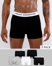 French Connection , 5 Pack Boxers