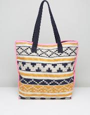 Pieces , Tapestry Beach Tote Bag