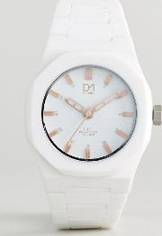 D1 Milano , Rose Collection White Watch