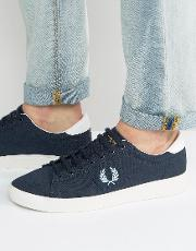 Fred Perry , Spencer Canvas Trainers