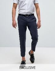 Noak , Skinny Tapered Jersey Trousers