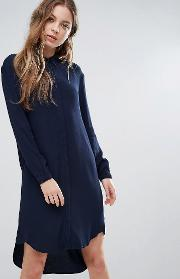 Selected , Clean Shirt Dress