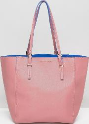 French Connection , Contrast Colour Tote Bag