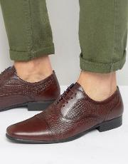 Red Tape , Etched Lace Up Smart Shoes
