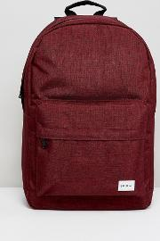 Spiral , Backpack Crosshatch In Burgundy