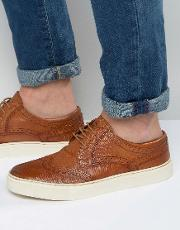 Base London , Costello Oxford Brogue Shoes