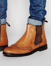 Red Tape , Brogue Chelsea Boots