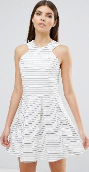 Dra , D.ra Rosalie Stripe Skater Dress