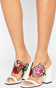 Asos , Hatton Garden Embroidered Mules