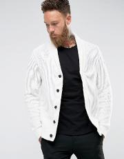 Selected Homme , Shawl Neck Cardigan