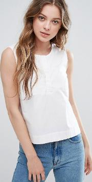 Selected , Morgan Sleeveless Shirt