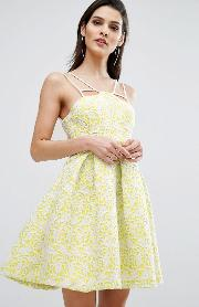 8th Sign , The Bonded Lace Skater Dress