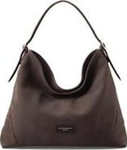 Aspinal Of London , The Hobo Bag In Smokey Grey