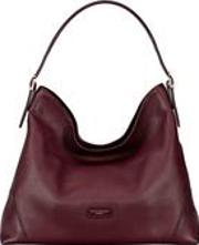 Aspinal Of London , Aspinal Hobo Bag In Bordeaux