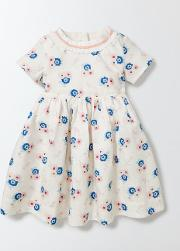 Mini Boden , Blossom Dress Summer Poppy Blossom Girls Boden