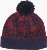Boohoo , Bobble Hat - Red