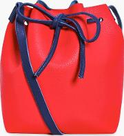 Boohoo , Colourblock Tie Duffle Bag - Red
