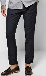 Boohoo , Fit Tailored Trouser - Navy