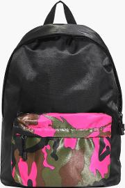 Boohoo , Front Colour Blocked Back Pack - Pink