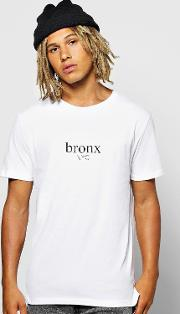 Boohoo , Frontback Print T Shirt - White